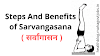 Steps And Benefits of Sarvangasana or Shoulder Stand Pose | सर्वांगासन
