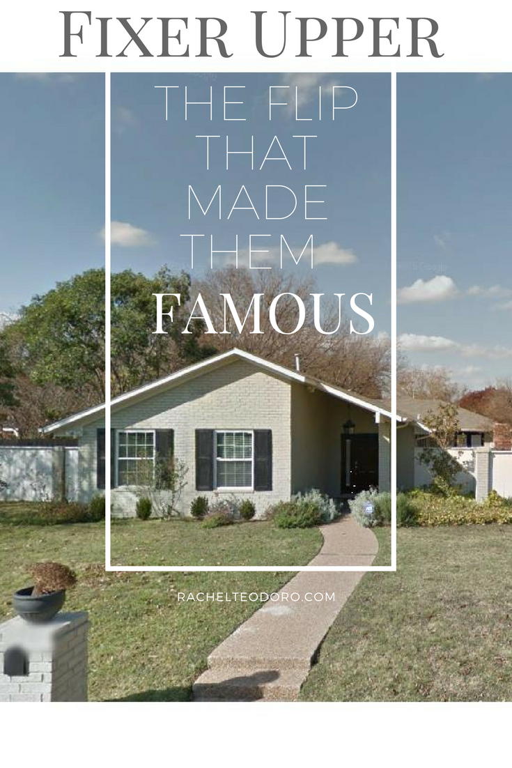 Fixer upper the flip that made them famous rachel teodoro for How does fixer upper actually work
