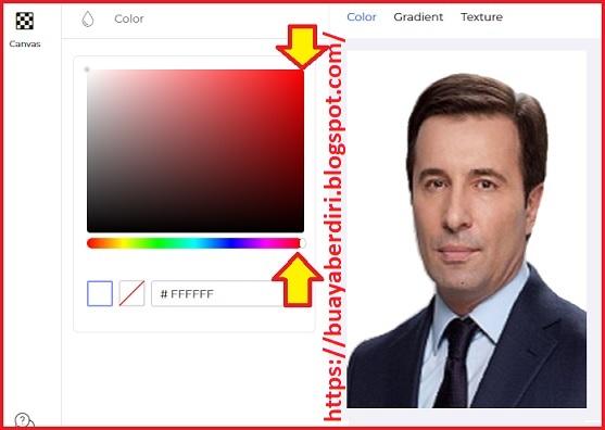 Cara Mengganti Background Foto Menjadi Merah Secara Online