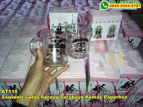 Toko Souvenir Gelas Serayu Surabaya Kemas Paperbox