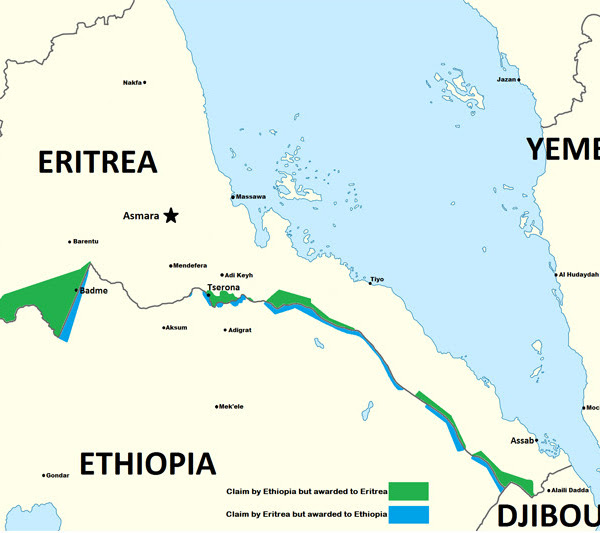 RESOLUSI KONFLIK PERBATASAN  ERITREA – ETHIOPIA (1998-2000)