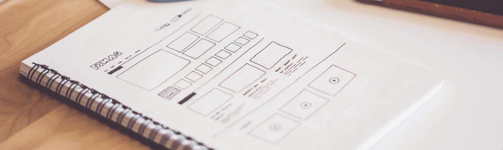 Perbedaan Web Designer dan Web Developer - Wireframe Layout