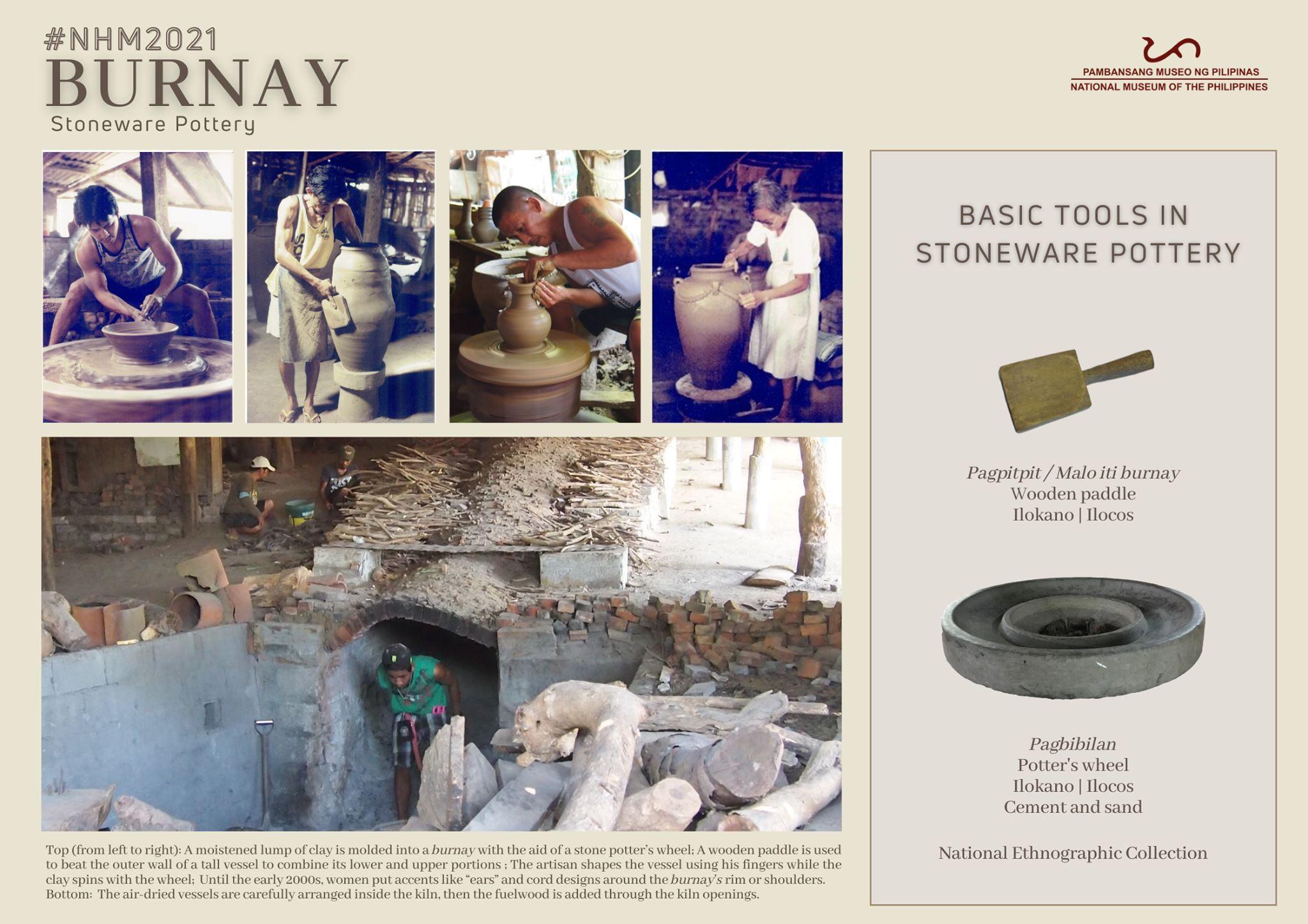 Burnay Burnayan Stoneware pottery