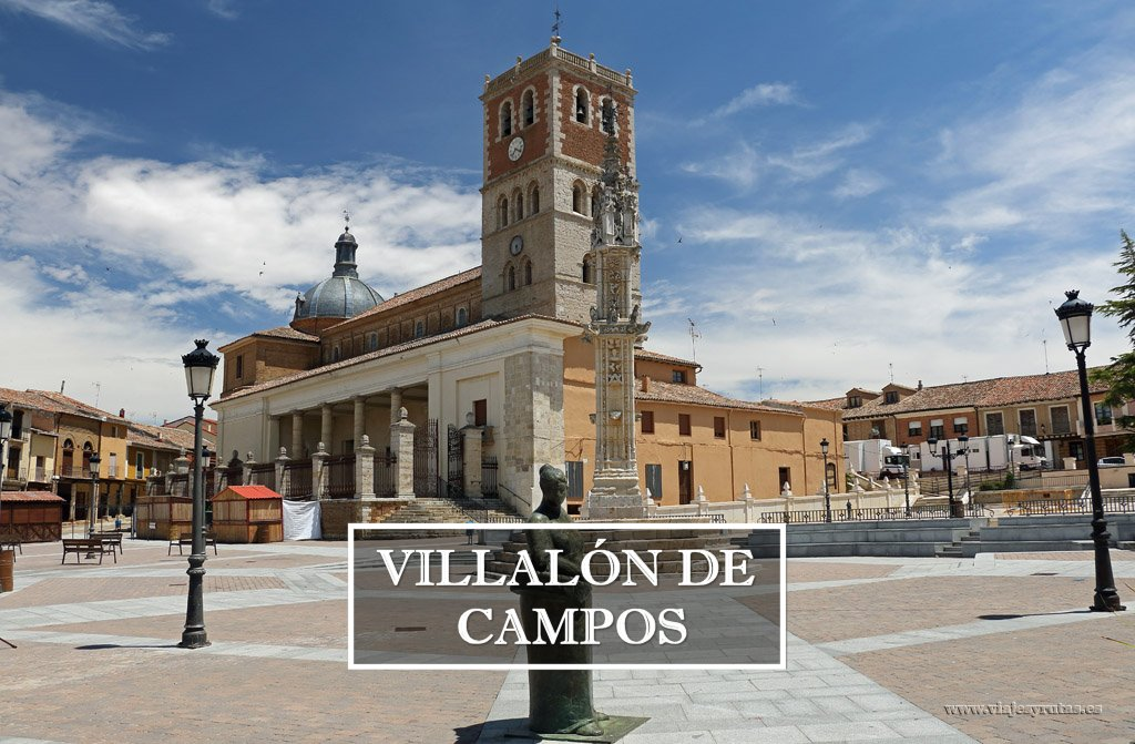 Villalón de Campos y la Iglesia de San Miguel