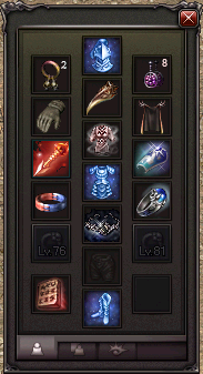 Equipment: Lv67 Dragon Knight