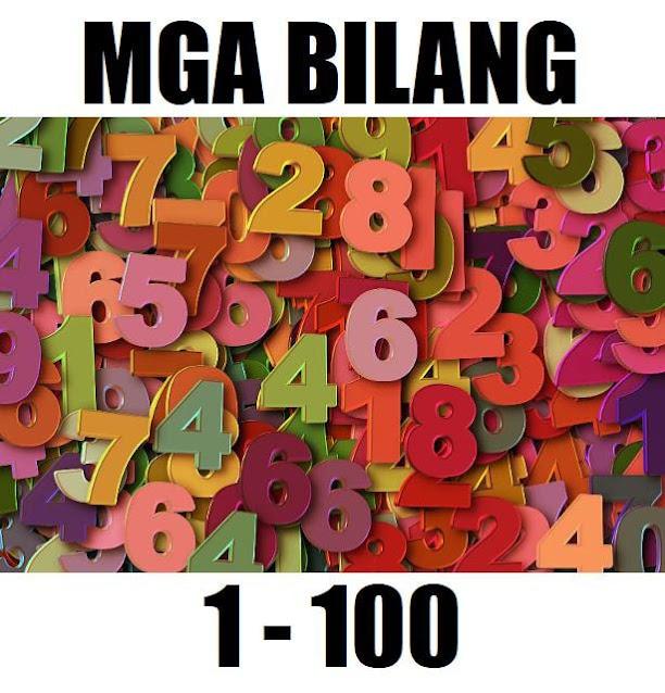 Counting Numbers 1 to 100 Mga Bilang