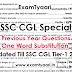 One Word Substitution Bilingual Asked in SSC Exams till 2017 [PDF]
