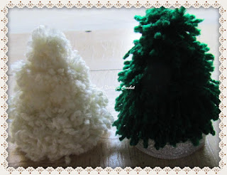 crochet xmas tree, crochet decoration