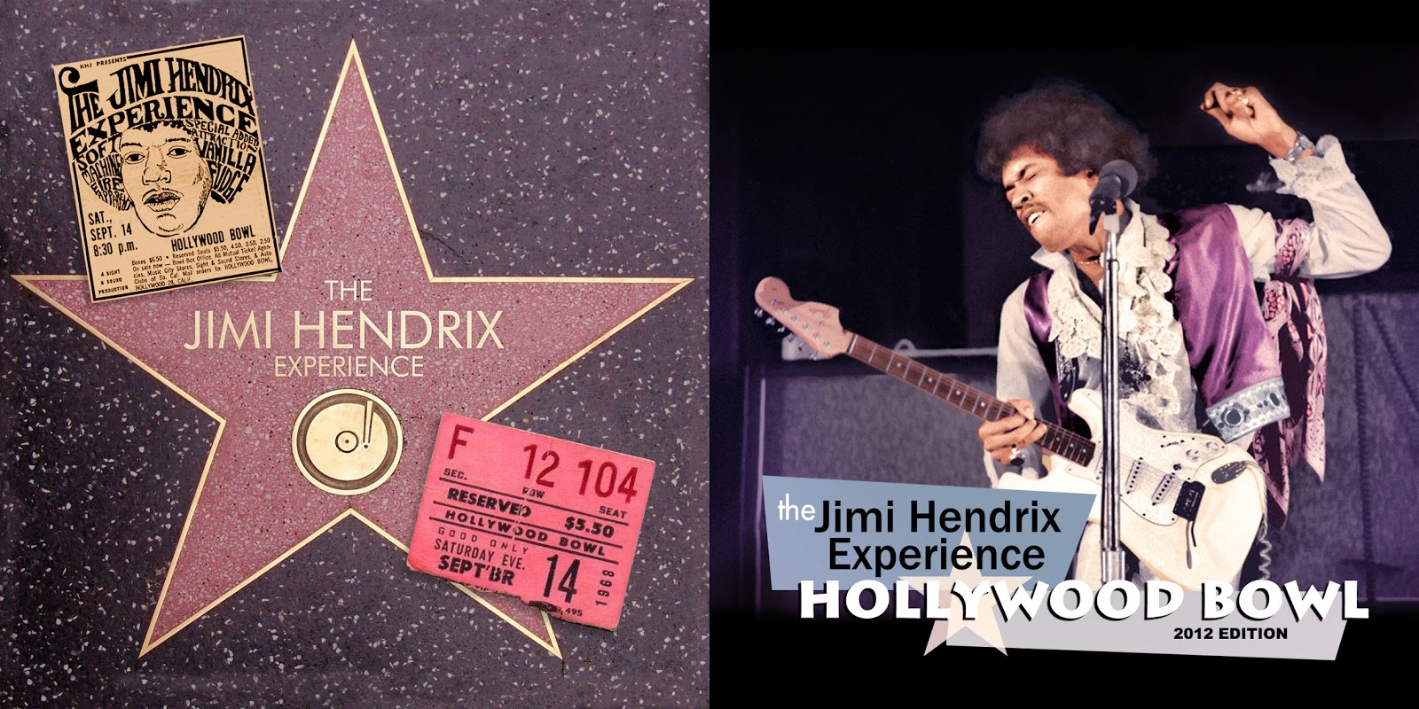 RELIQUARY: Jimi Hendrix [1968 09 14] Hollywood Bowl 2012 Edition
