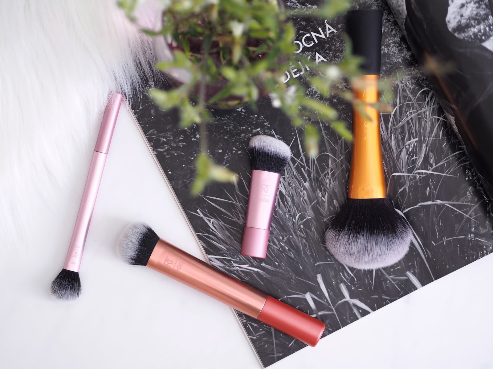 Real Techniques kozmetické štetce, cosmetics brushes