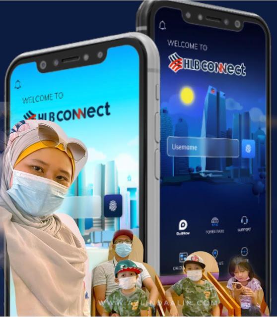 HLB POCKET CONNECT 3 DALAM 1 JUNIOR AKAUN HONG LEONG BANK UNTUK SIMPAN DUIT ANAK-ANAK KAMI !