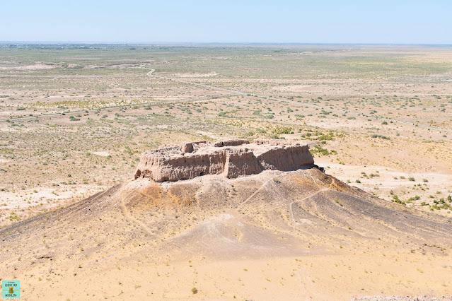 Ayaz Qala fortaleza Khorezm (Uzbekistan)