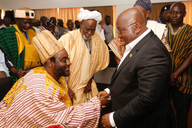 """""""Thank You For Your Leadership, Vision For Dagbon"""" – Abudus To President Akufo-Addo"""