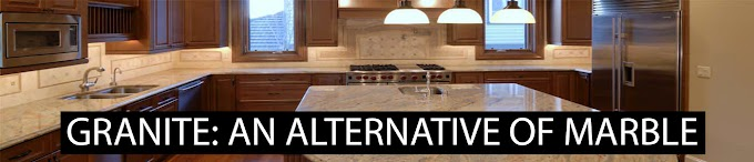 GRANITE: AN ALTERNATIVE OF MARBLE