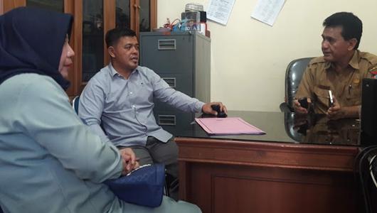 DPRD Padang Terima Kunjungan 2 Anggota DPRD Kuantan Singingi