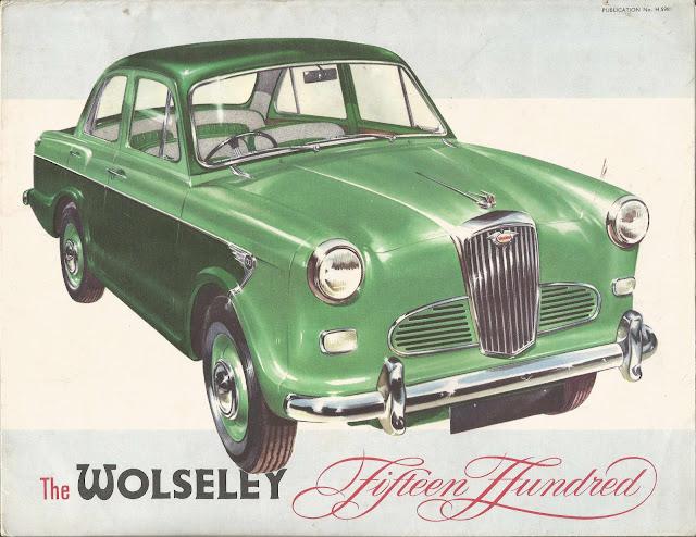 Wolseley 1500 mk1 brochure 1957