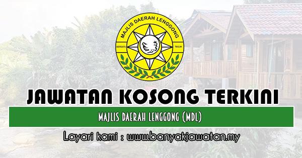Jawatan Kosong 2020 di Majlis Daerah Lenggong (MDLg)