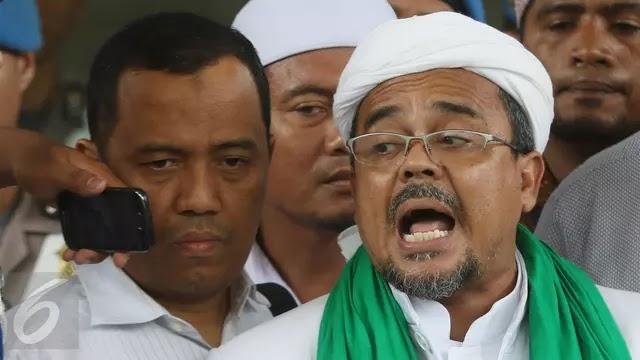 Polisi:DPO Rizieq Shihab Pulang ke Indonesia,Apa Dia Berani ??????