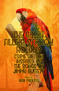The Great Filling Station Holdup anthology colourful cover