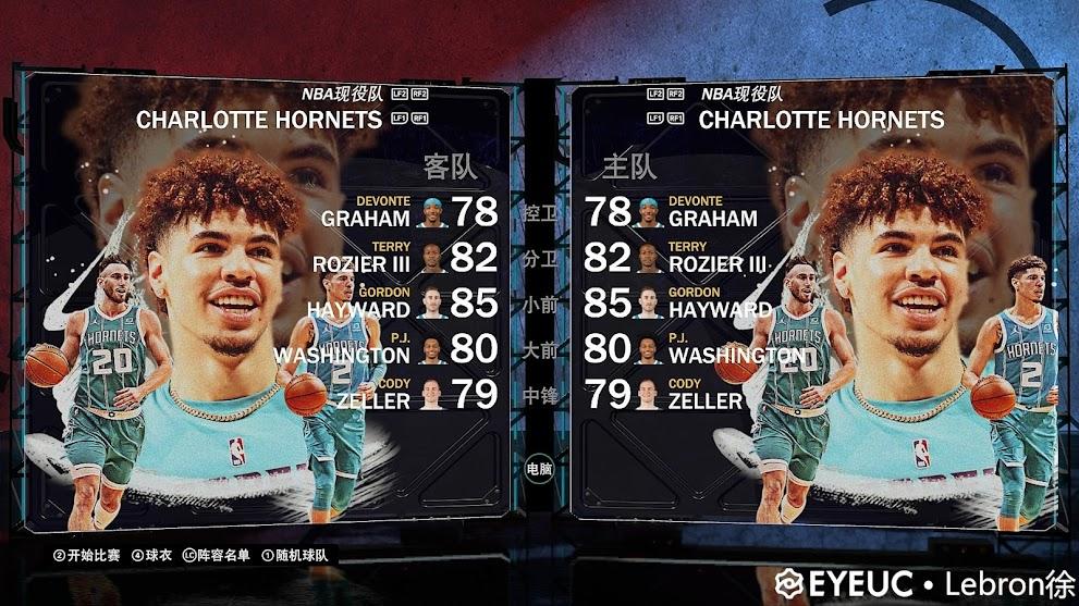 NBA 2K21 Charlotte Hornets New Mural By Lebron Xu