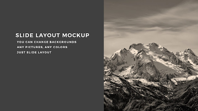 Just Click or Drag and Drop, you can add your images into mockup screen in PowerPoint with Various Background