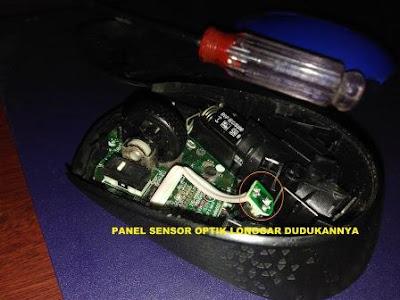 Penyebab Mouse Optik Ngadat Dan Cara Memperbaikinya