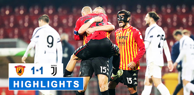 Benevento vs Juventus – Highlights