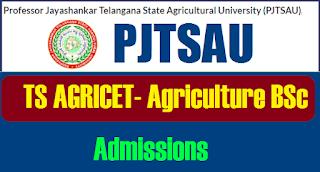 TS PJTSAU AGRICET 2021 Notification