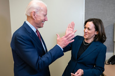 THANKS TO JOE BIDEN AND KAMALA HARRIS. HELP IS ON THE WAY