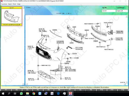 Toyota \ Lexus EPC Parts Catalog 07.2020 - Auto EPC All