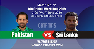 World Cup 2019 Match Prediction Tips by Experts PAK vs SL