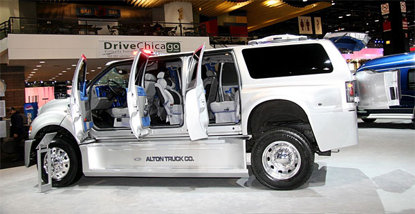New Cars Models Ford Alton F 650 Xuv Chicago Auto Show