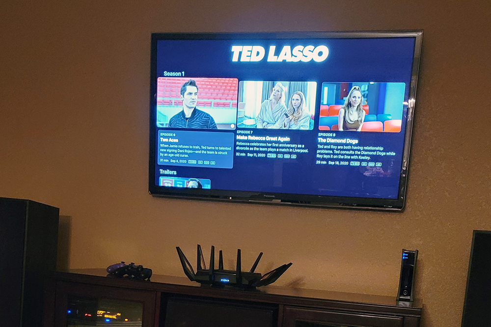 Watching Ted Lasso