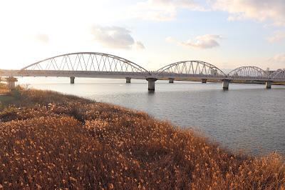 Cross many bridges on your Japanese bike trip