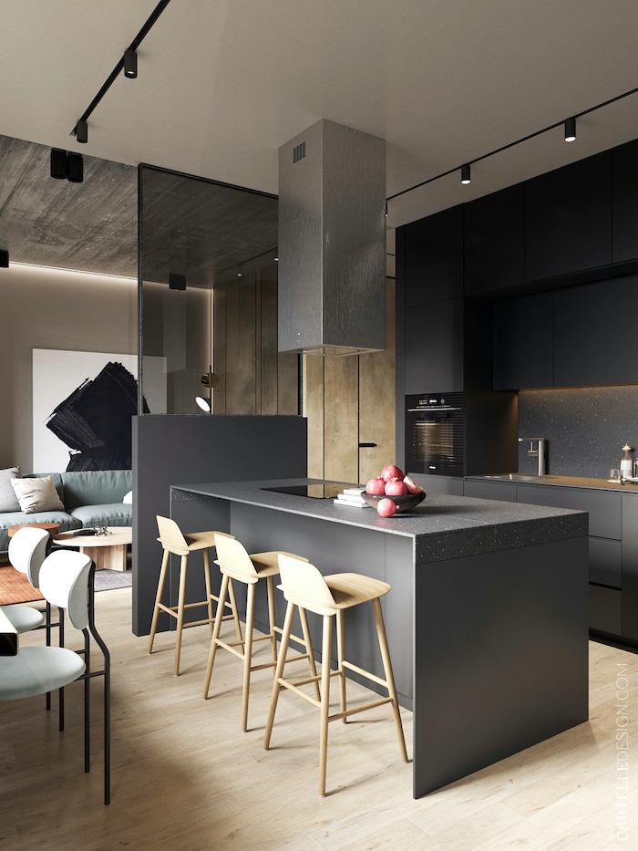 Salón de apartamento moderno