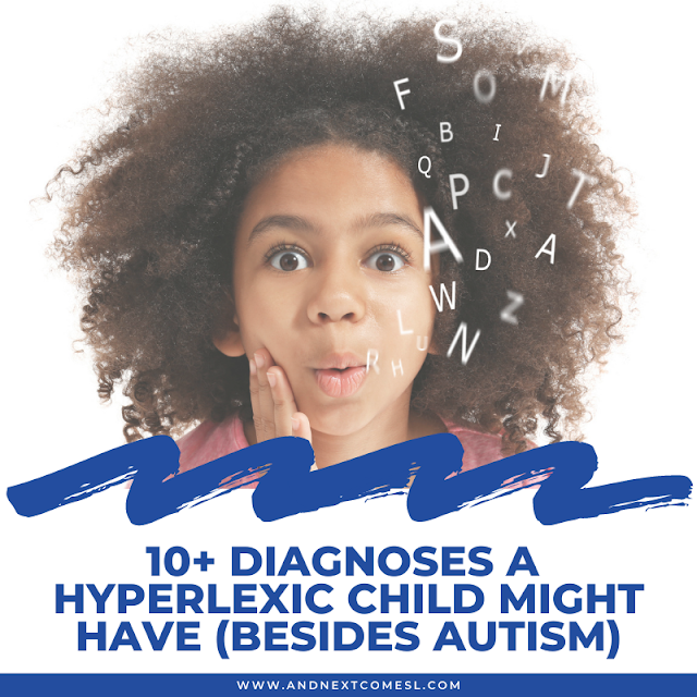 10+ diagnoses a hyperlexic child might have besides autism