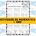 Atividades de matemática 1º ano fundamental