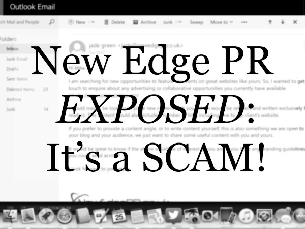 NEW EDGE PR EXPOSED: IT'S A SCAM!