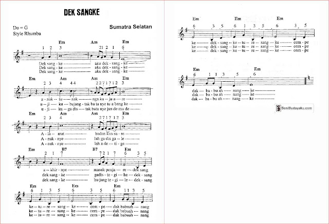 gambar-lirik-dan-not-angka-lagu-dek-sangke-sumatera-selatan