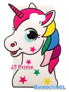 Silicona Unicornio J7 Prime