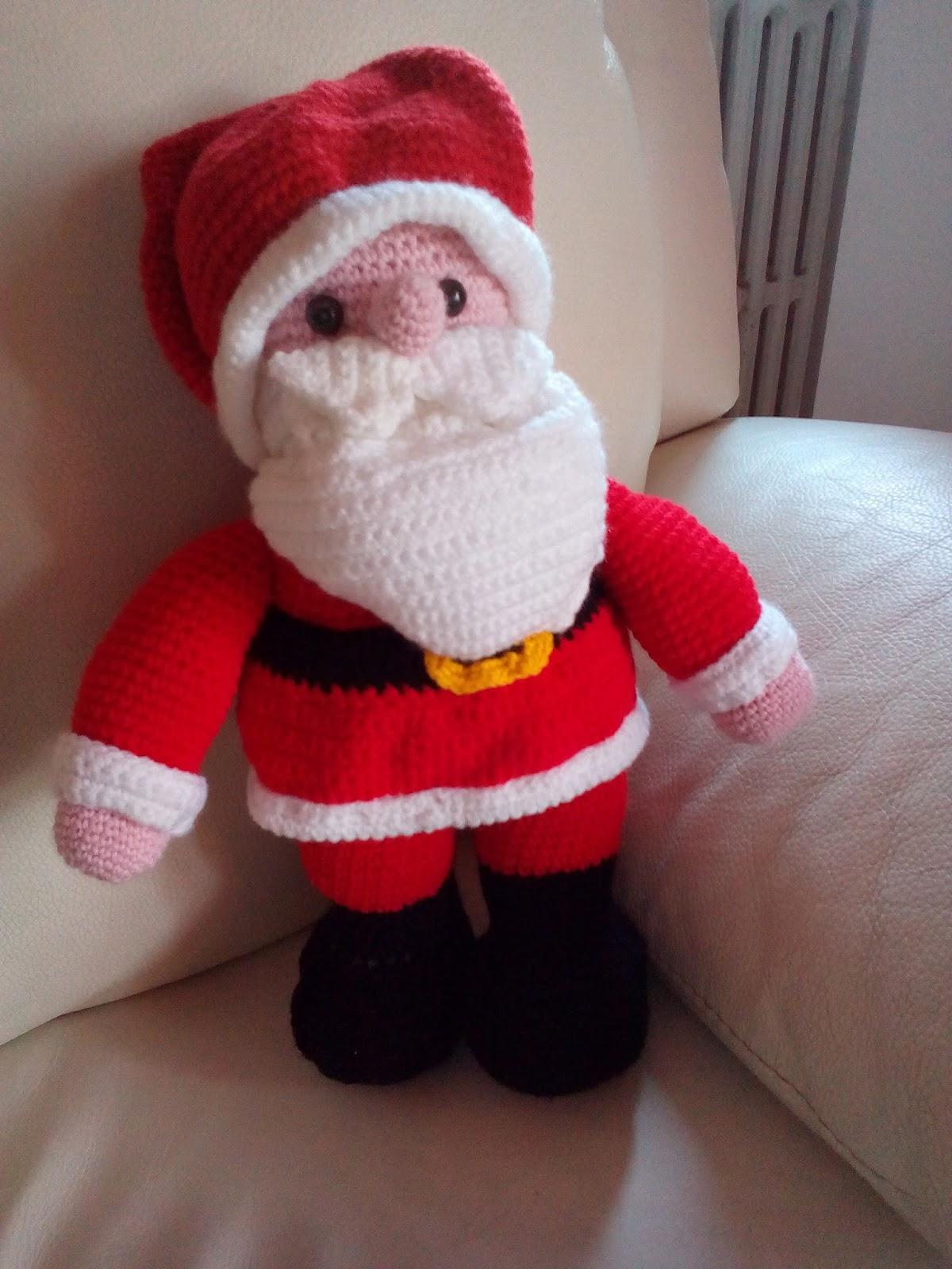 Babbo Natale Uncinetto amigurumi schema italiano - manifantasia | 1600x1200