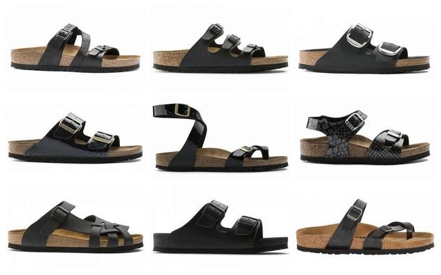 Shop tip zwarte Birkenstock slippers en sandalen Schoenfashion zomerschoenen mode blog inspiratie sandaaltjes kopen