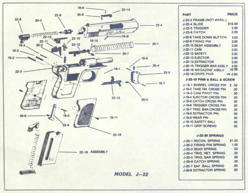 walther ppk parts diagram wwwtopsimagescom