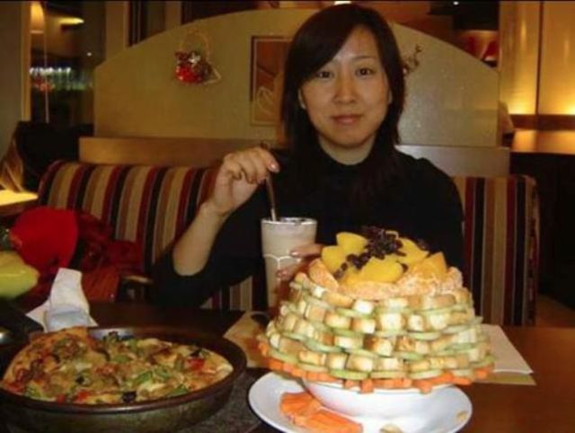 The Chinese Salad Tower For Enthusiastic Salad Lovers (9 Pics)