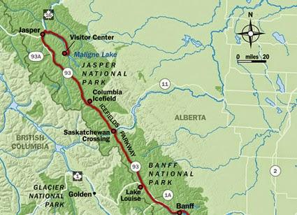 road trip to jasper canada