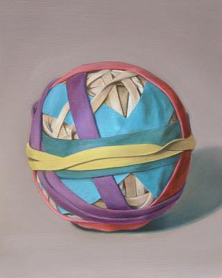 Sandy wilcox, Rubber Band Ball #4