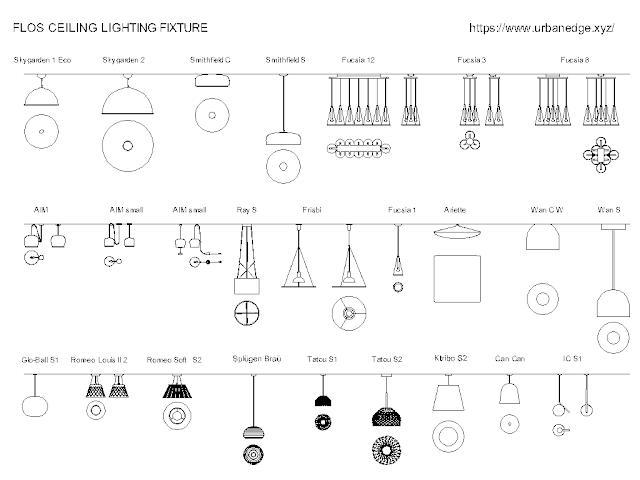 Ceiling light fixtures cad blocks free download - 55+ free cad blocks