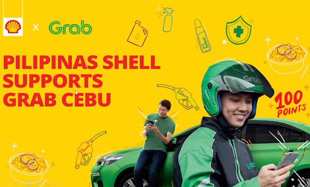 Grab drivers perks Shell Cebu