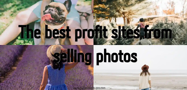 profit sites from selling photos