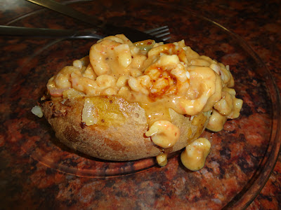 Prawns Jacket Potato